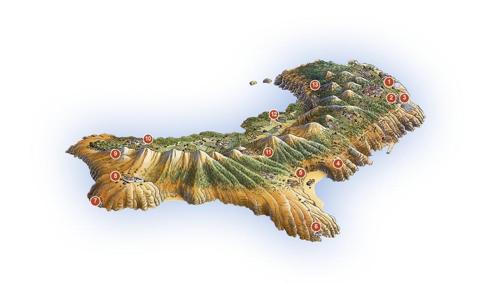 el hierro map