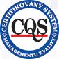 CQS Certifikovaný systém managementu kvality