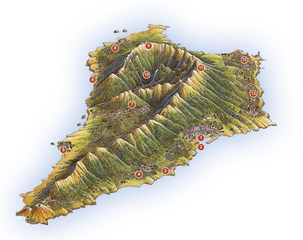 la palma map